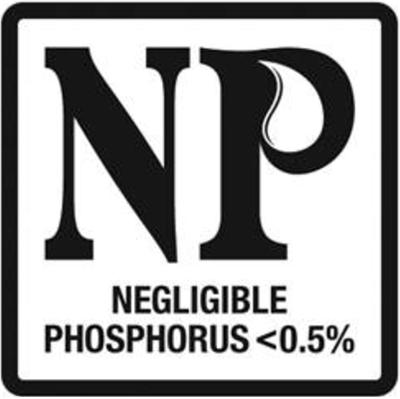 Negligible phosphorous